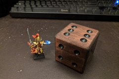 Loremaster  and self-made counter dice.